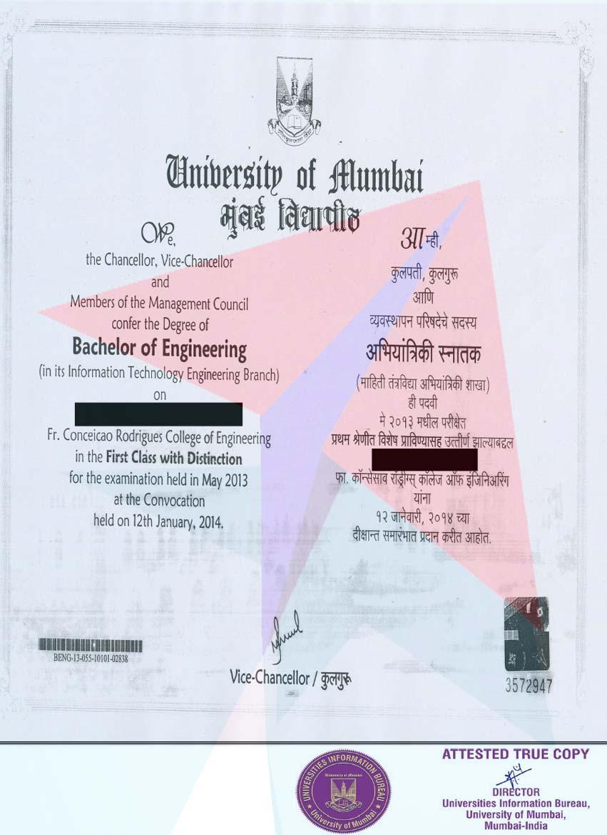 MumbaiUniversityTranscripts - Getting transcripts made fast and